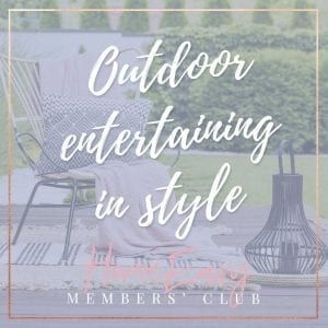 outdoor entertaining spaces