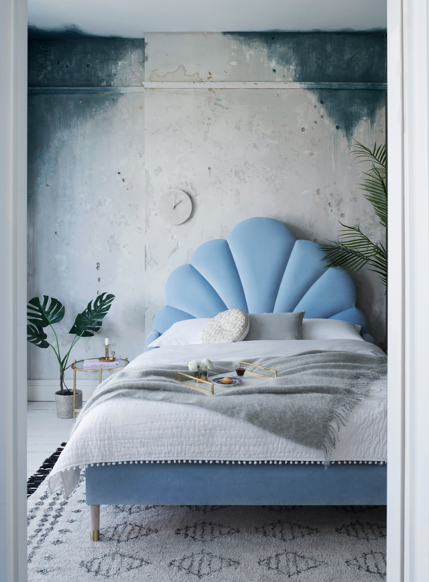 Interior design trends for autumn winter 2019 - Scalloped furniture by Sweetpea and Willow