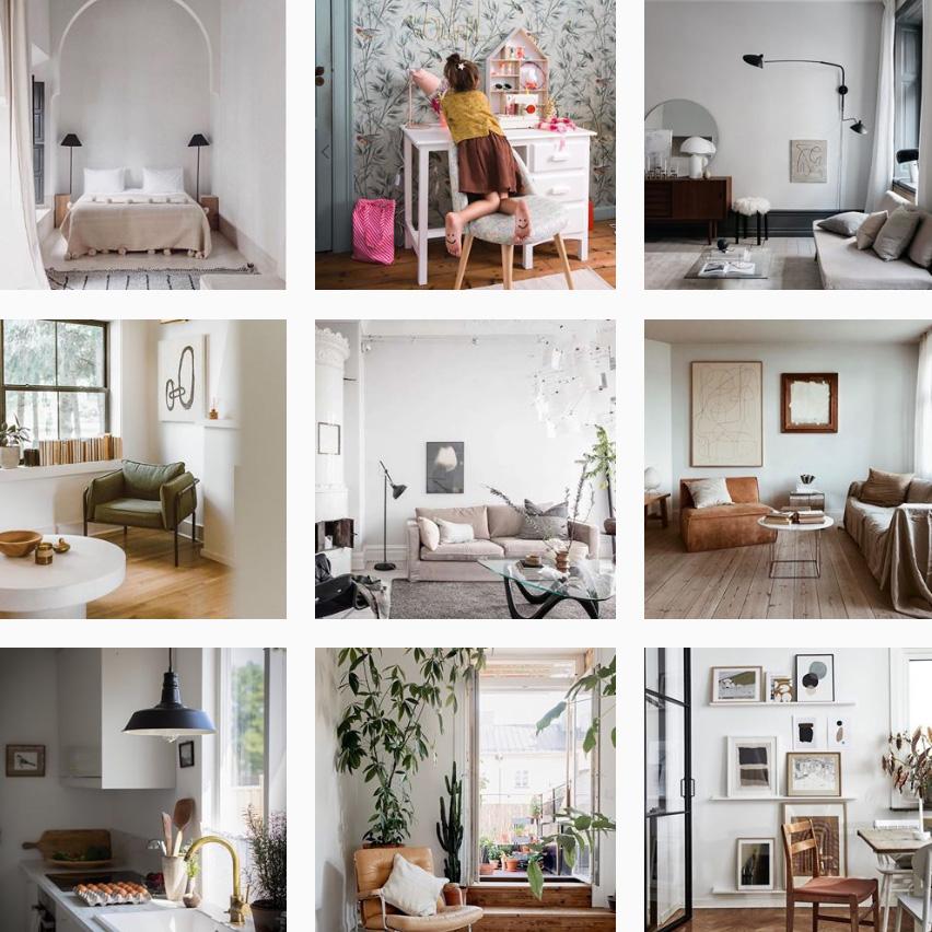 Scandinavian interior instagram accounts