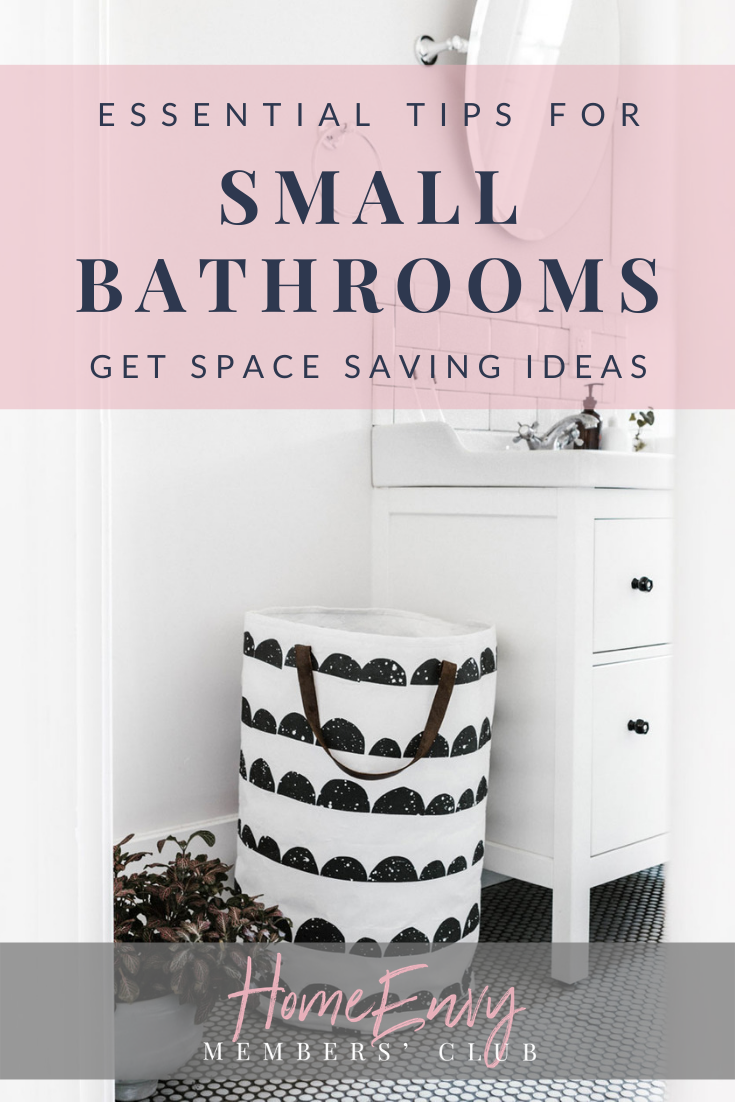 Unclutter Your Small Bathroom With These Smart Space Saving Solutions