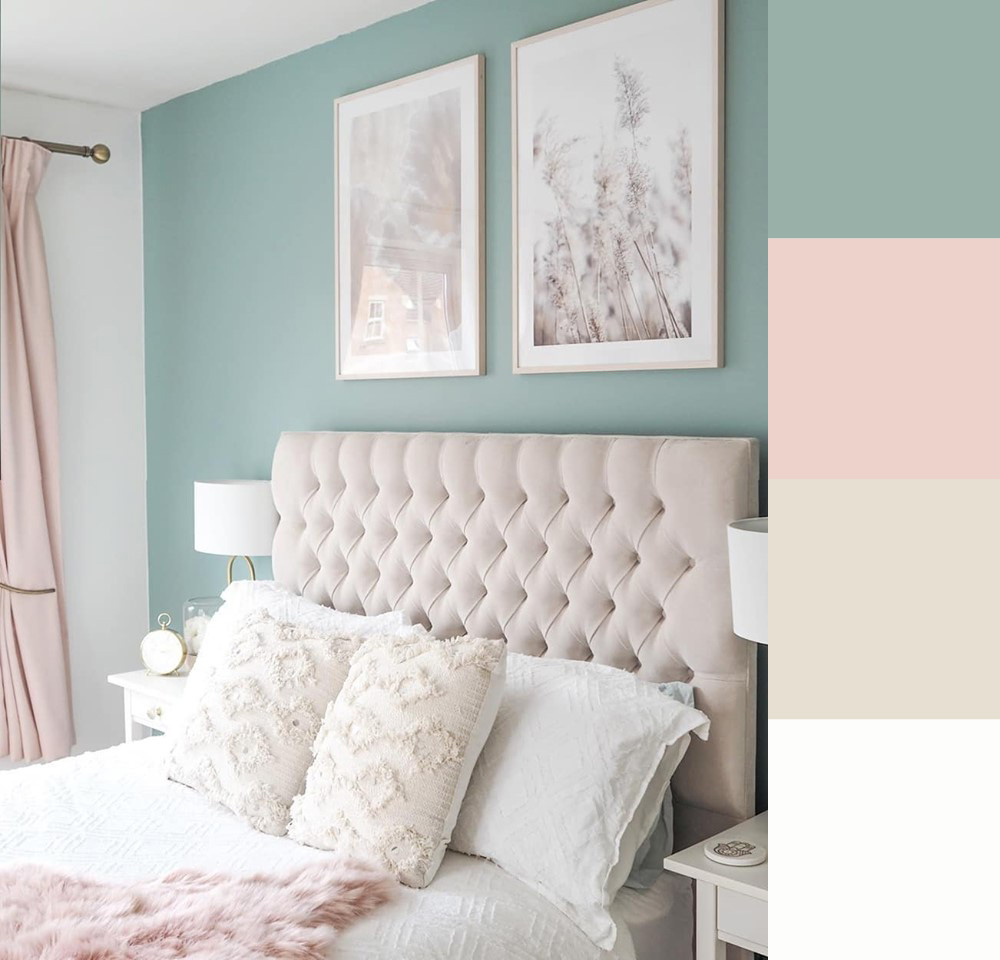 bedroom colour palette ideas