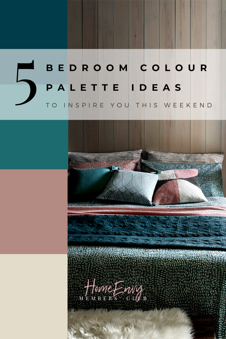 5 Bedroom Colour Palette Ideas To Inspire You This Weekend