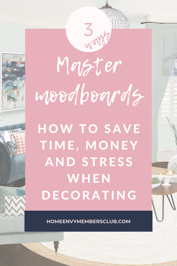 How to save time, money and stress when decorating