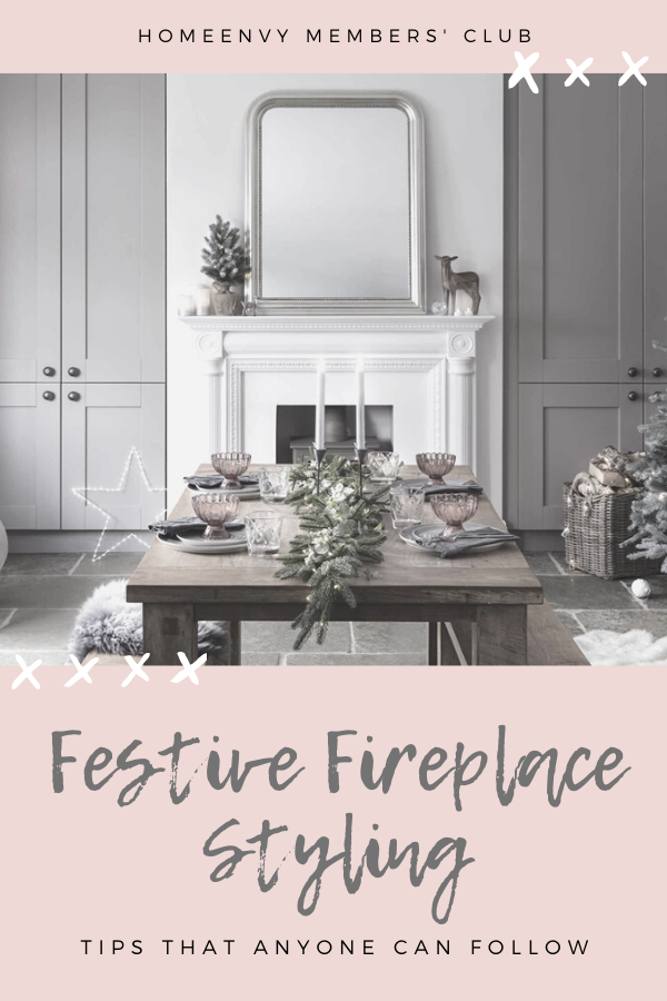 Festive Fireplace Styling Tips Anyone Can Follow