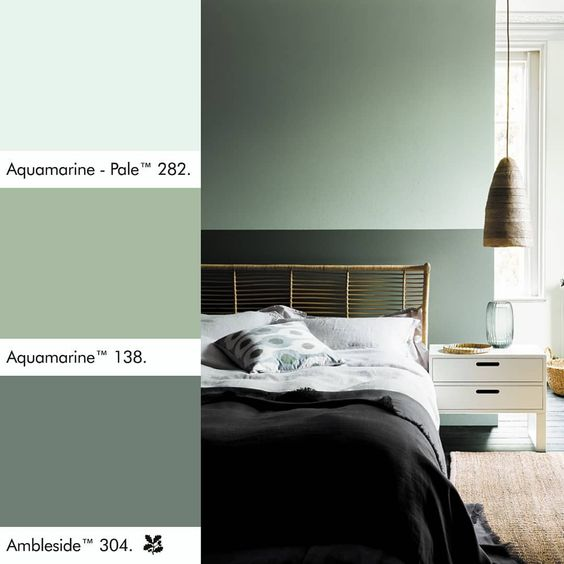 Aquamarine - Paint colour trends for 2020 - the new key colours to paint your home in