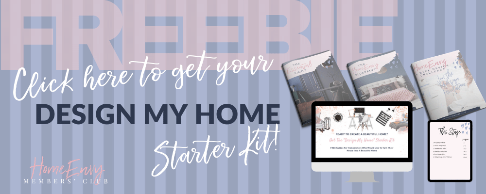 design my home starter kit banner