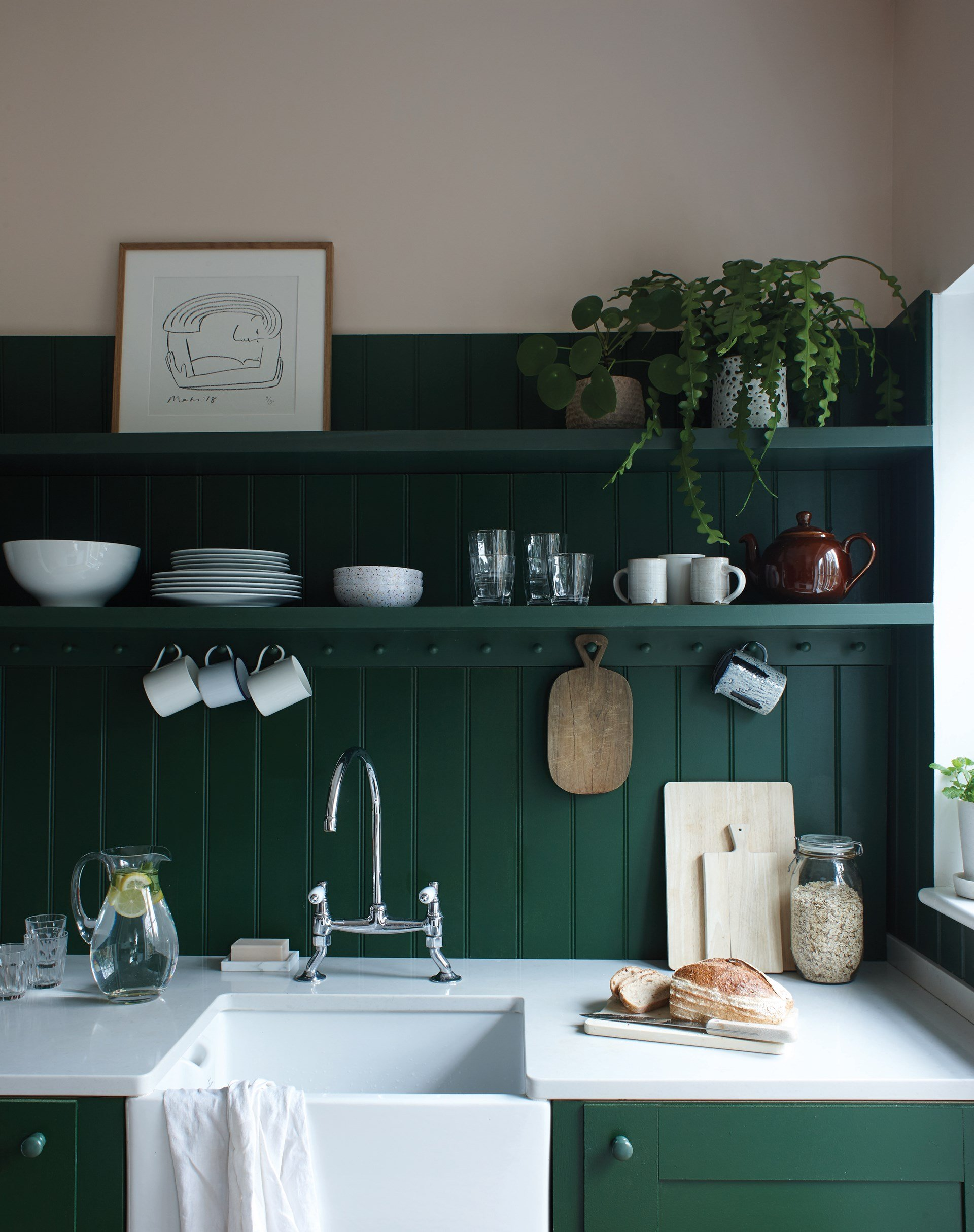 duck-green-kitchen