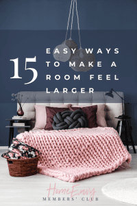 15 Simple Ways To Make A Room Feel Bigger
