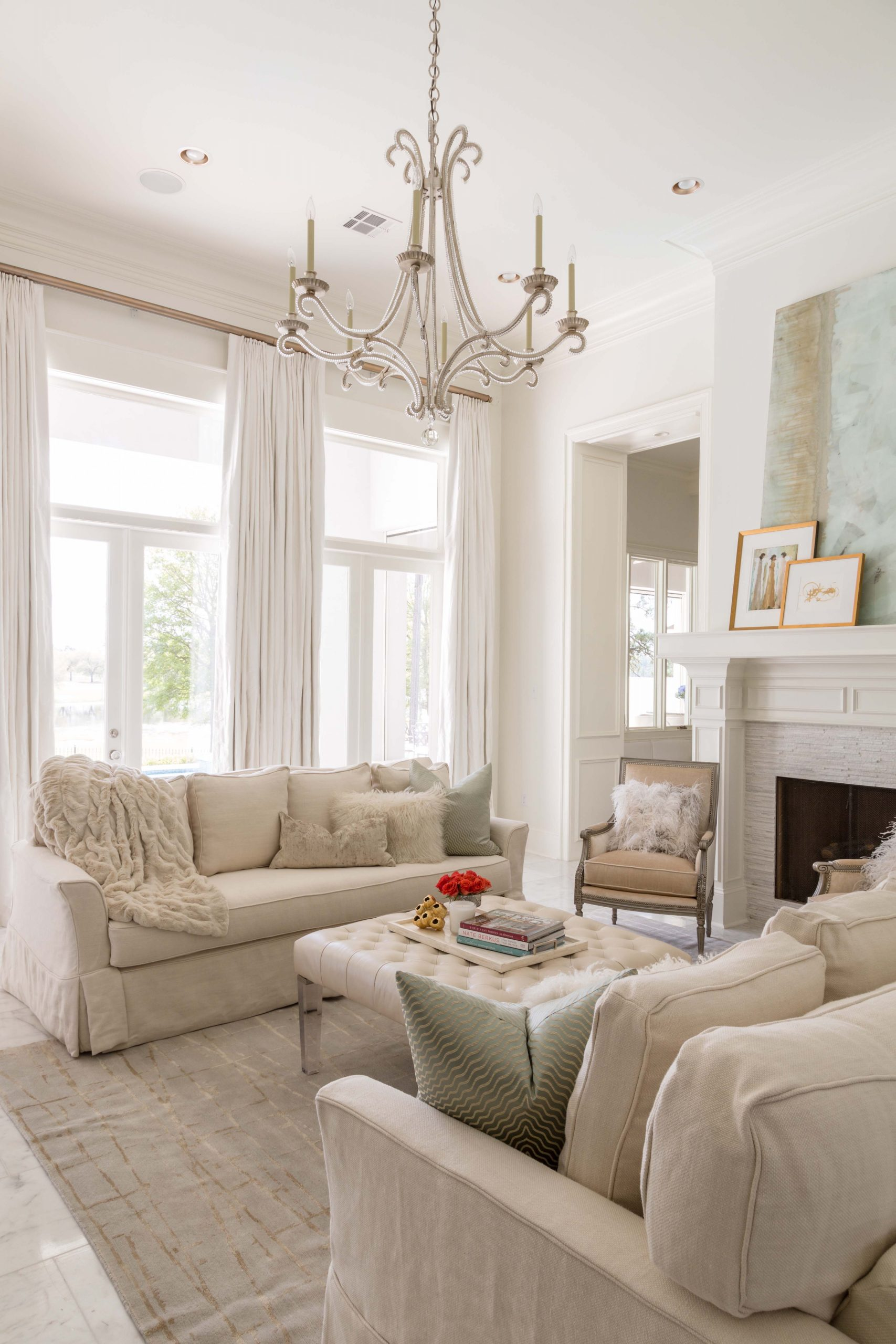 how to create a whole house colour palette