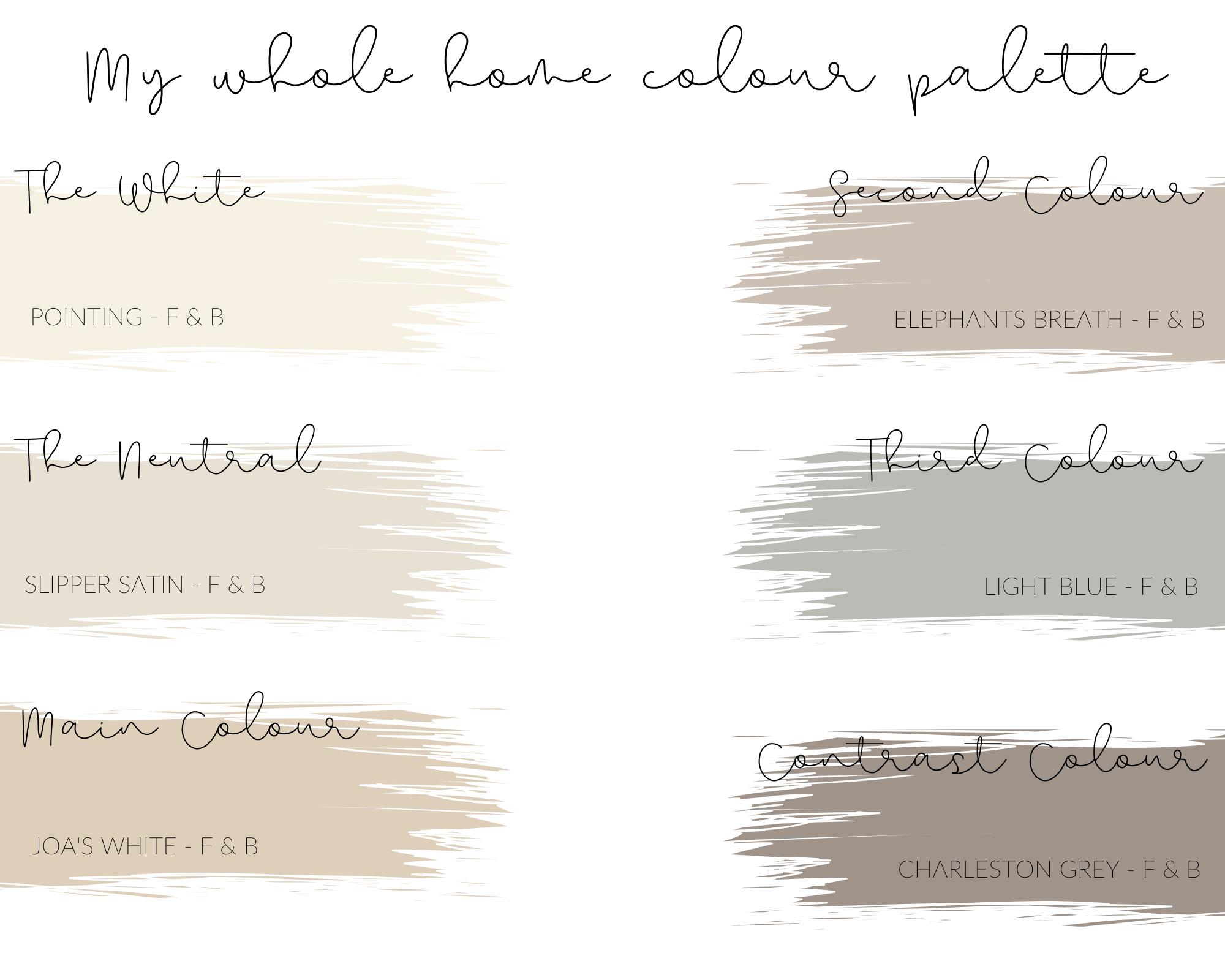 Whole Home Colour Palette NHG