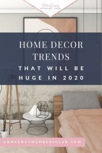 2020 Spring Decorating Trends
