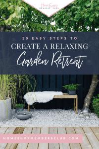 10 Ways Create a Relaxing Garden Retreat