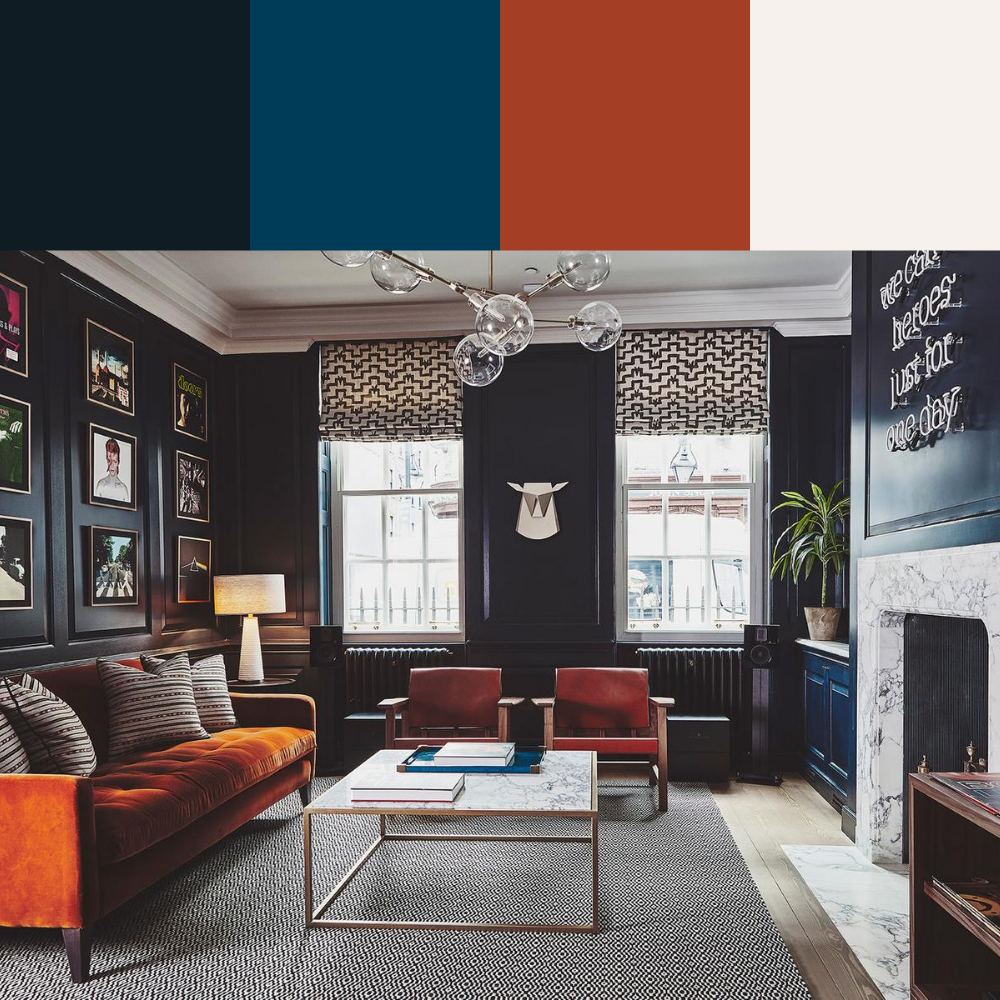 7 Colour Palette Ideas For Your Living Room - Palette 2