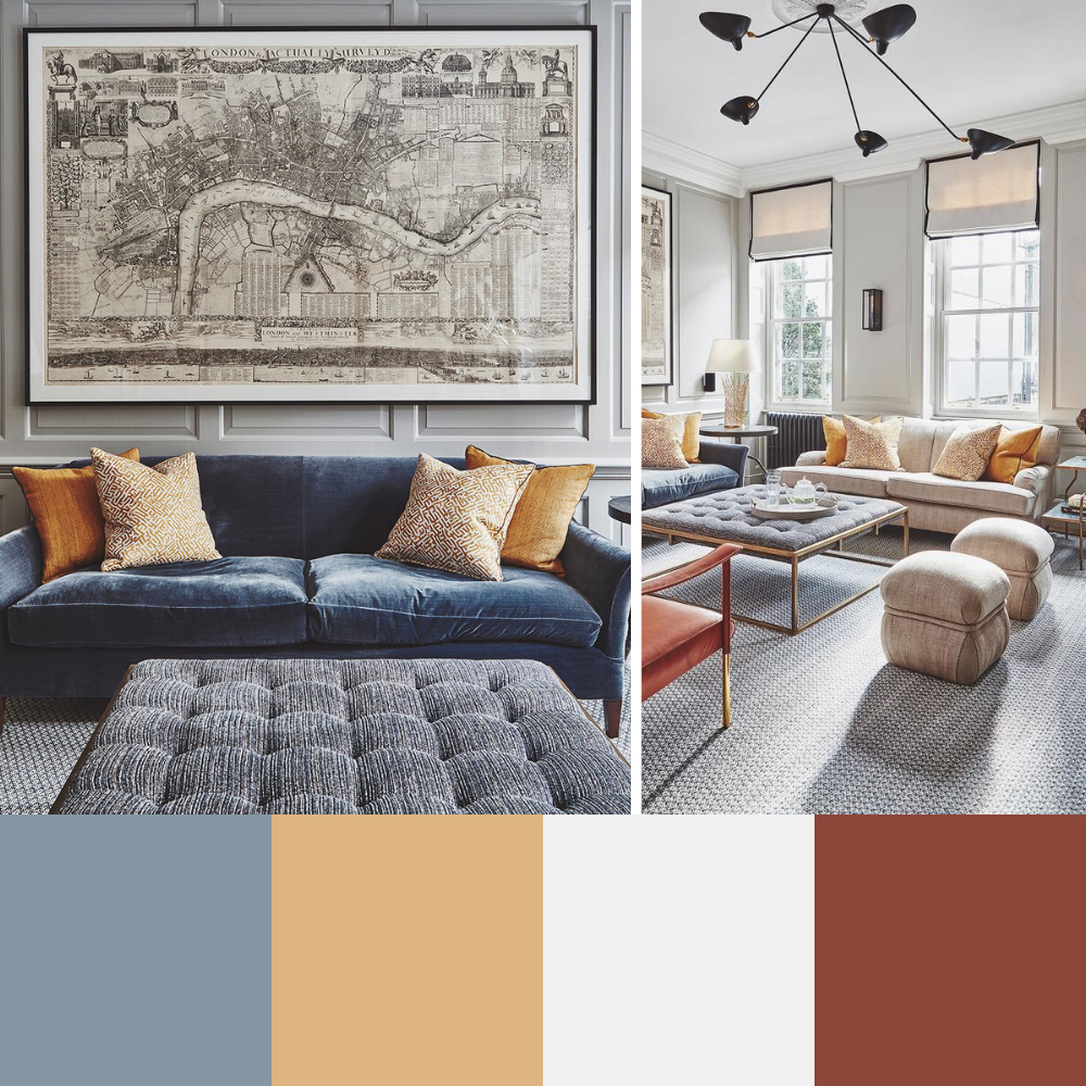 7 Colour Palette Ideas For Your Living Room - Palette 3