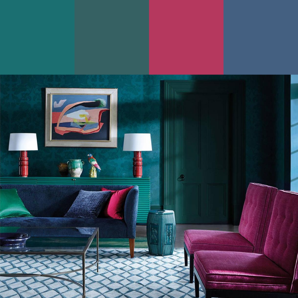 7 Colour Palette Ideas For Your Living Room - Palette 6