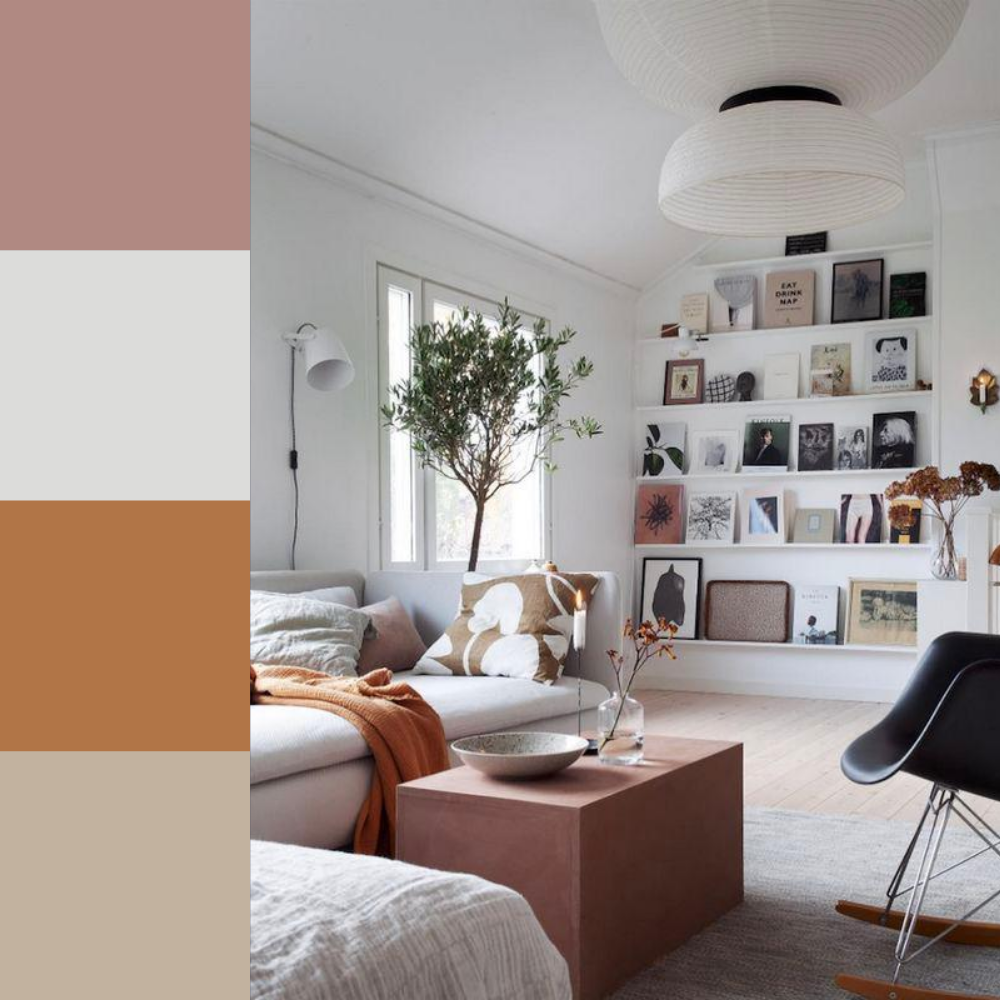 7 Colour Palette Ideas For Your Living Room - Palette 7