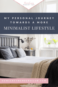 My personal journey towards a more minimalist lifestyle