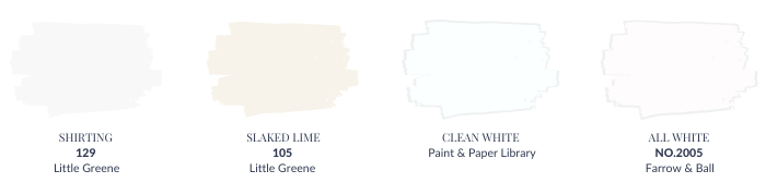How to choose the right white paint - Pure White Paints